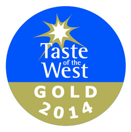 Taste of the West Gold Award Winner 2014